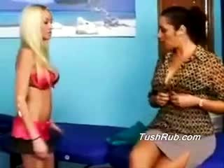 Vanna Maddison, The Hottest Massuse In Town Gets Massaged By