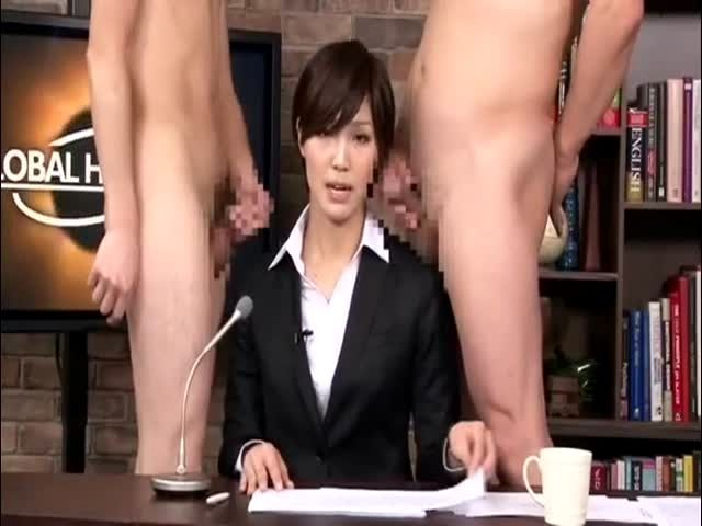 Japanese bukkake news readers porn pics