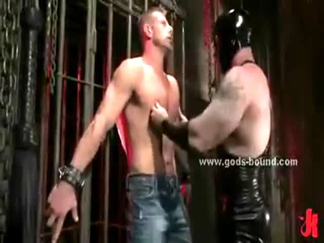 Gay bondage porn movie reece is blindfolded 7