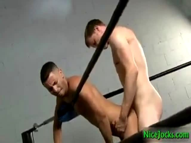 Dallas And Mario Fucking In Boxers Ring