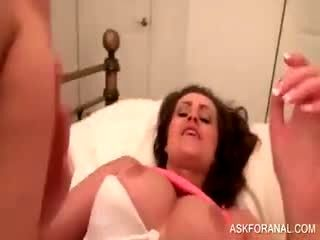 Horny Slut Gets POV Ass Nailed In Bed