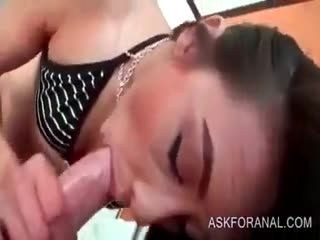 Sassy Teeny Blows And Jumps Big Boner In POV