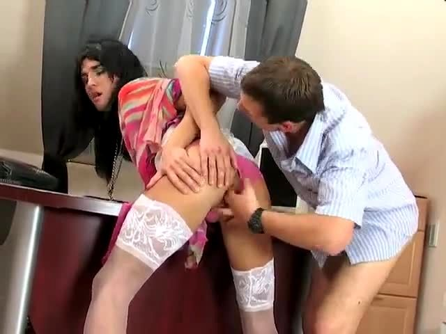 crossdresser office sex