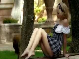 Blonde Teen Public Nudity