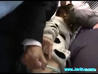 Girl Molested On Crowded Train NHDTA217