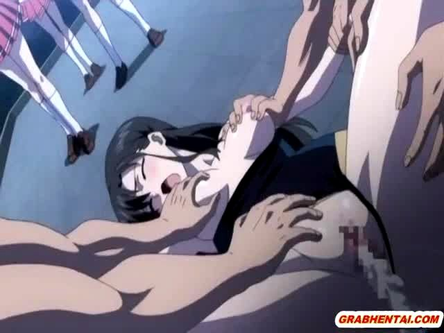 Hentai creampie gangbang