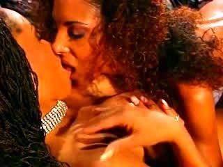 Two Latina Lesbians Having Some Fun