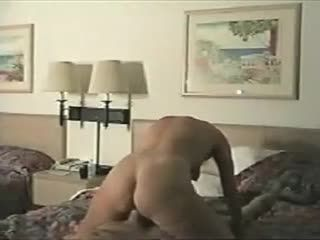 Amazing Blonde Rides A Cock Reverse-cowgirl Style