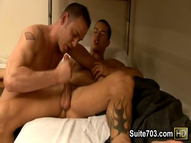 Two Hunks Have Amazing Anal Sex