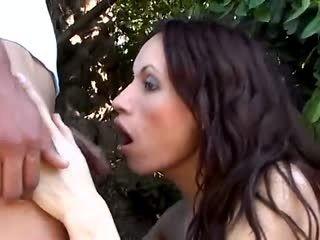 Hot Couple Enjoy Sex Outdoor
