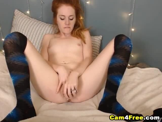 tight redhead college pussy