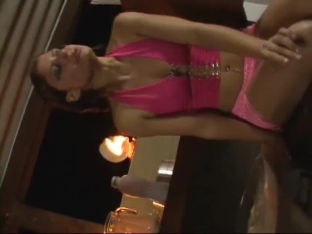 Vomit and puking fetish glass dildo…