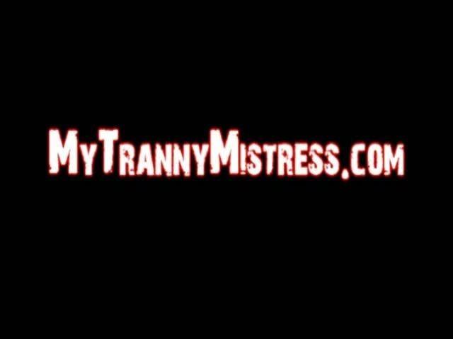 Tranny Gagging 107