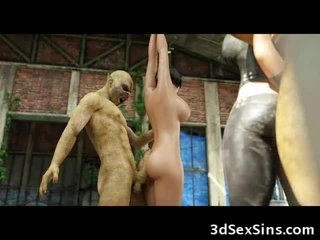 Hd monster porn 3d Evil Monsters sex amp 3d Demon porn