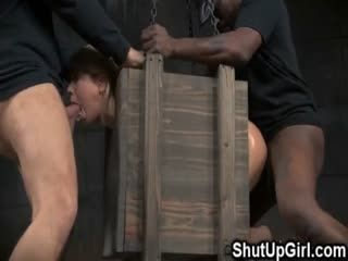 Small Teen Bound In A Box Fucked Rough!