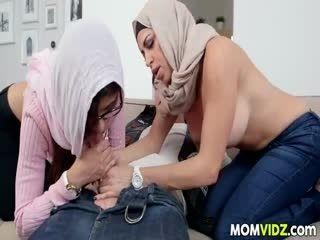 Stepmom Julianna Vega And Mia Khalifa Cumming