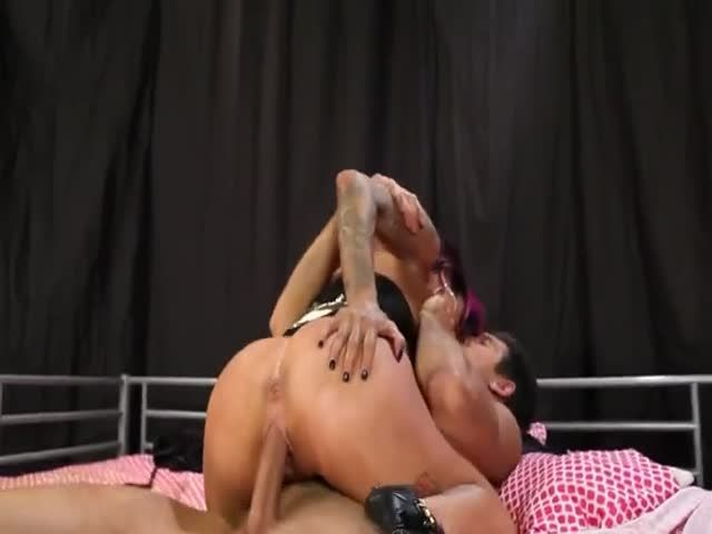 Watch Extreme Punk Penetrating With Famous Fetish Pornstar On The Floor