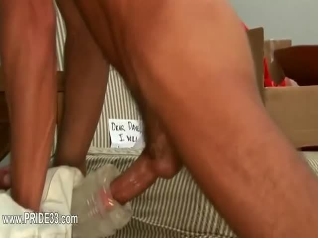 Slutload belt spanked cum piss