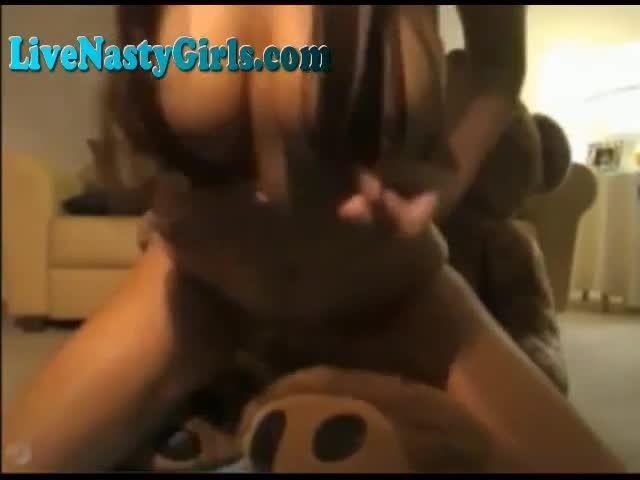 Have Jumbo teddy bear fucks a girl any