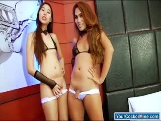 Asian Ts A And Yuki A Get Fucked For Cum