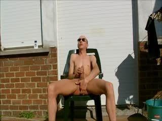 Xavier Desmadryl masturbating full nude 8 may 2016