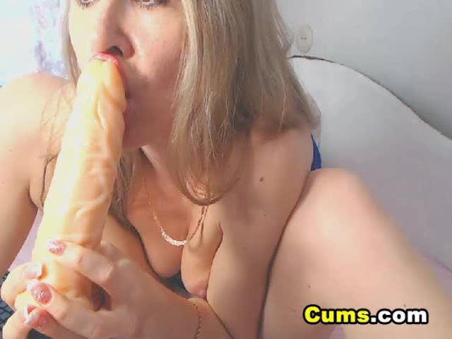 Horny chick with dildos and heels