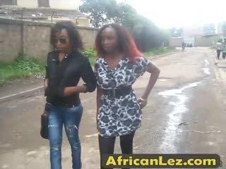 AfricanLez 7min 06 07 2016 2012 04 14 Juliette Sakira Street 1