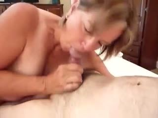 FILLING DEBBIE LANDRY'S MOUTH WITH CUM
