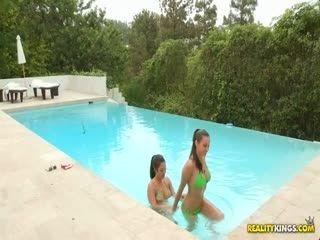 Celeste Star Malena Morgan And Eva Loria Pretty Pussies