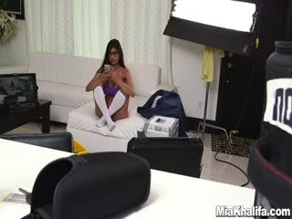 Mia Khalifa   Me Getting Extra Dick Behind The Scenes!