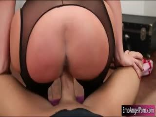 Giant Boobs And Big Ass Pornstar Fucked