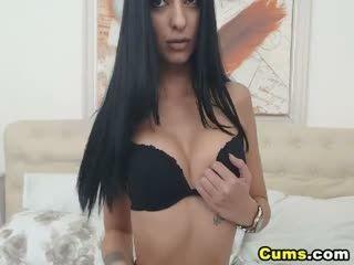 Sexy Latina Having A Nice Show