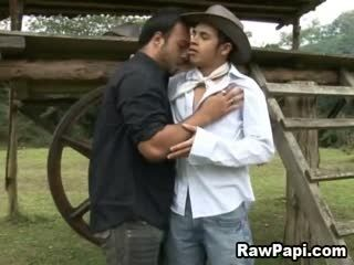 Awesome Bareback Sex With Cute Latino Men