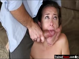 Cassidy Klein throated and slammed rough