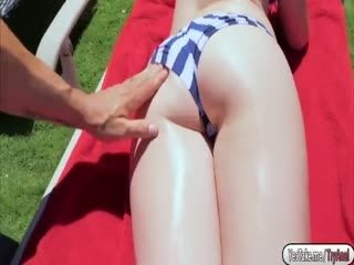 Hot Roxy Nicole gets nailed in the ass