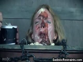 Extreme BDSM Food Mess!