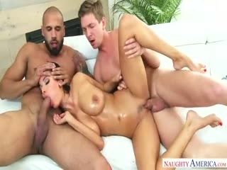 Anissa Kate - Naughty Double Penetration