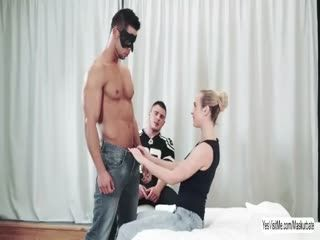 Blonde Vinna Reed fucked by gays cock