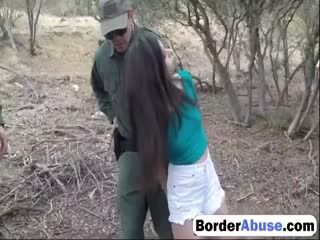 Borderabuse 2 3 217 Nasty Border Patrool Surveys Pretty Brunette With Great Deliberation 72p 1