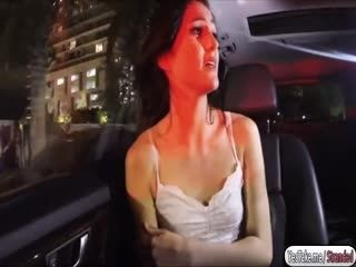Reneee Roulette gets fucked in the car