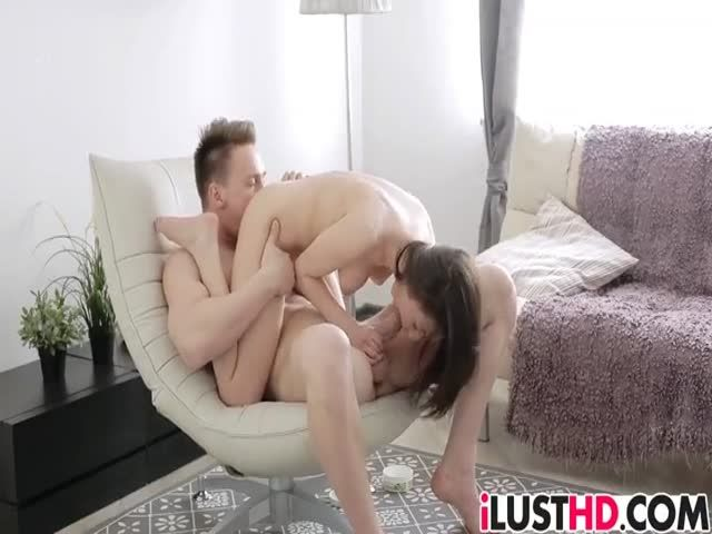 Teen katherine gets a nice sized dick