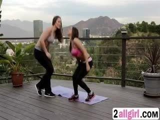 2allgirl 3 5 217 The Nuru Kit Dani Daniels And Sara Luvv 3