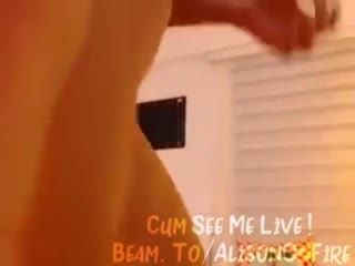 Beam.to Alisonfire   Amateur Webcam Babe Masturbating On Twitch 21  235   Webcam Girl Alisonfire