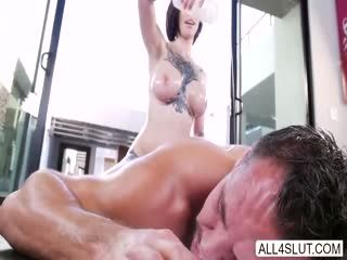 Bigtits Harlow Gets Some Anal Fuck