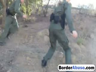 Borderabuse 12 6 217 Amateur Threesome For Border Slut 72p 1
