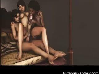 3D Hermaphrodites Fucking Hot Girls!