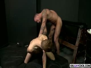 HORNY STUD TAKES A BIG DICK POUNDING