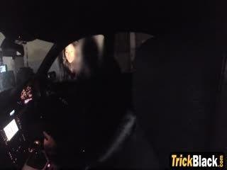Trickblack 8 7 217 Ebony Stripper Rides The Policemans Helmet Fakehubcom 2