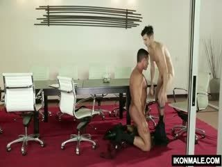 Nick Capra Fucks With His Coworker Andy Banks