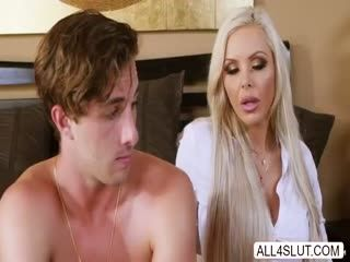 Horny Lucas Frost Eats And Bang Two Wet Pussies And He Loves It